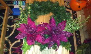 Holday Wreath wth Bling - $35